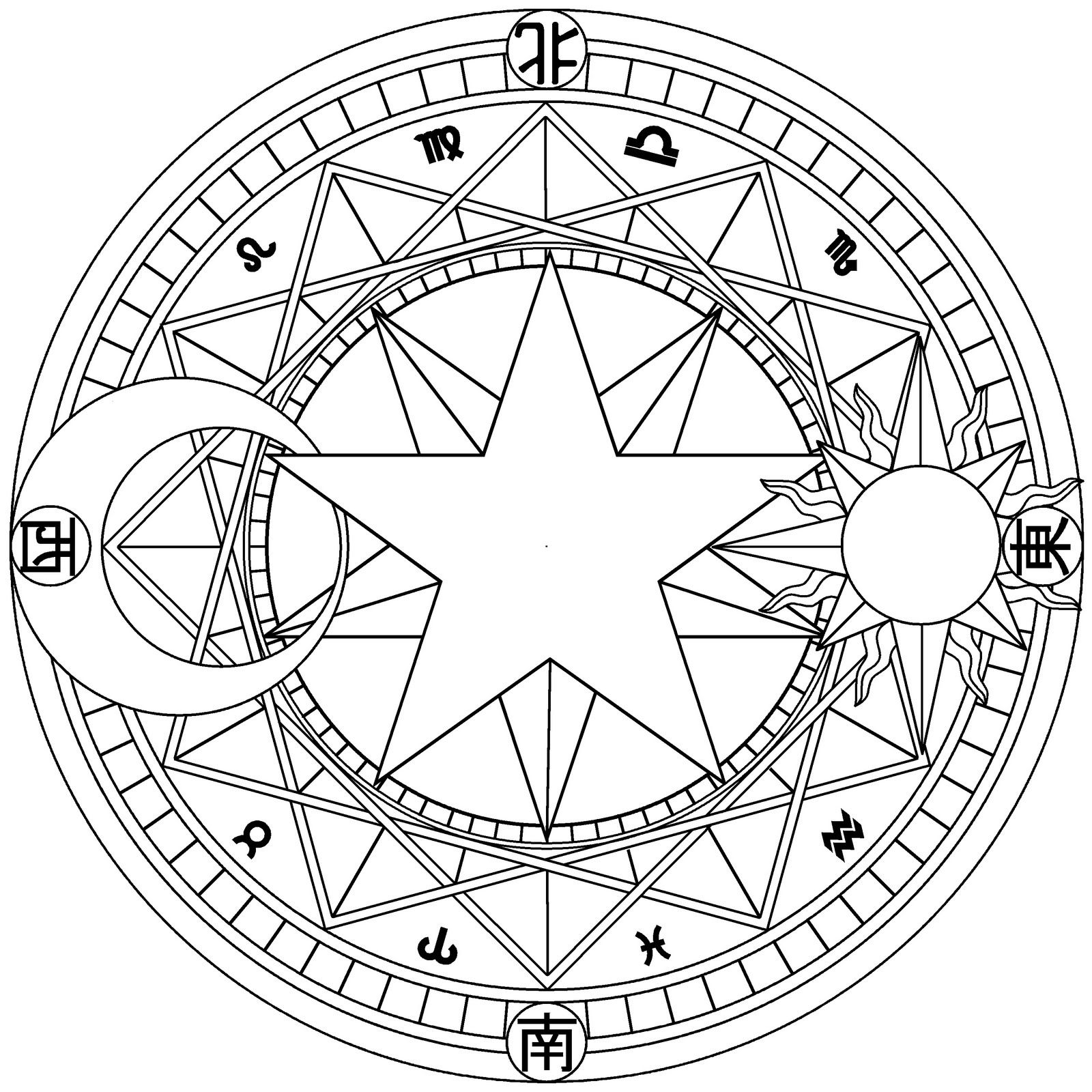Pin by mallory on coloring pages pinterest magic circle