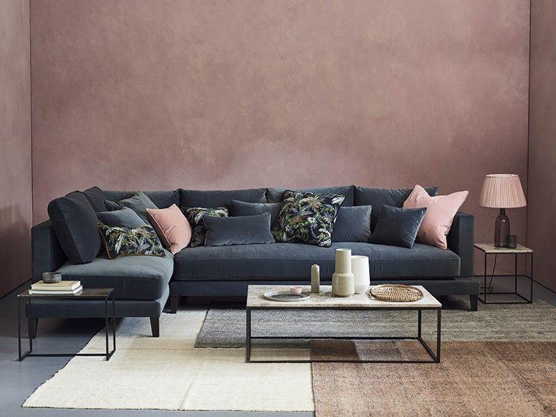 20 Pinterest Worthy Sofas We Love Corner Sofa Living Room Velvet Sofa Living Room Sofa Home
