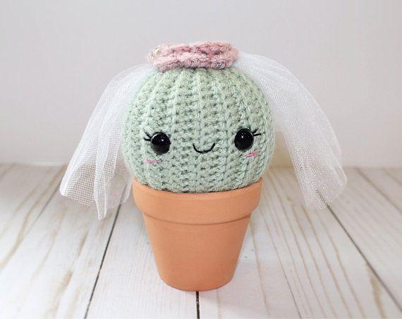 Amigurumi Cactus Crochet Pattern : Amigurumi cactus pattern pdf file pattern only crochet cactus
