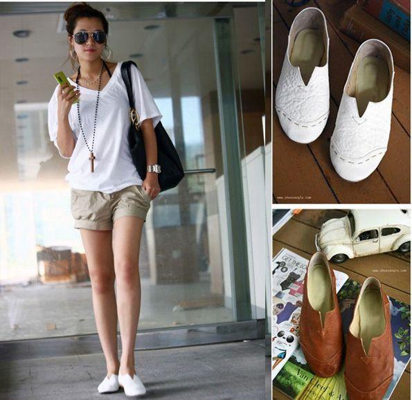 $12 WOMEN SHOES :: Casual :: 2011 Korean flat sweet shoes ...