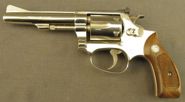Smith And Wesson Kit Gun Model 34 1 22lr Revolver Smith Wesson