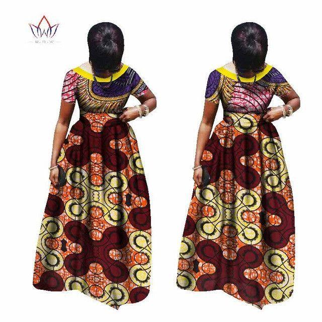 plus size women clothing Maxi Dress Dashiki short african