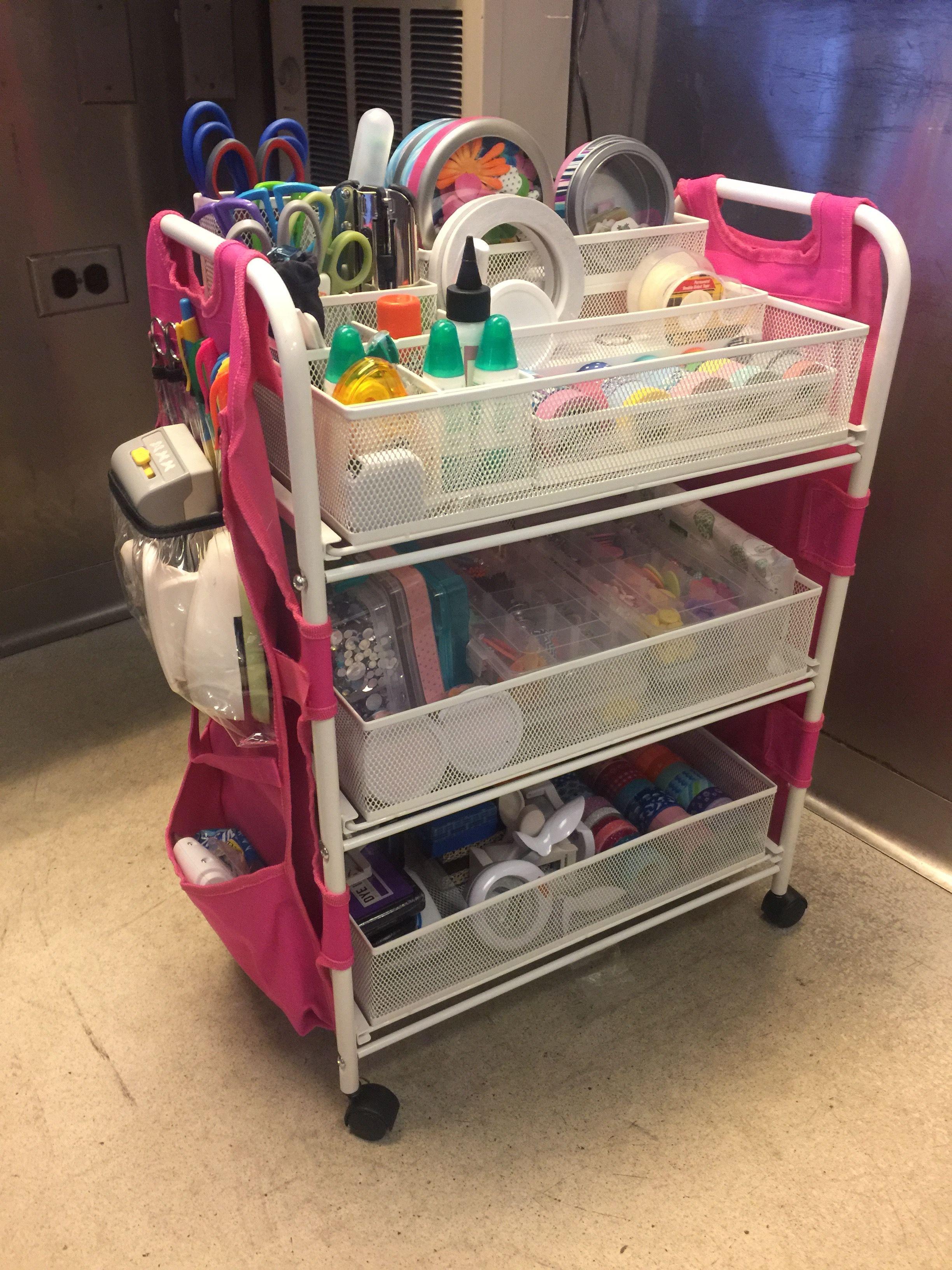 21++ Totally tiffany craft cart apron ideas