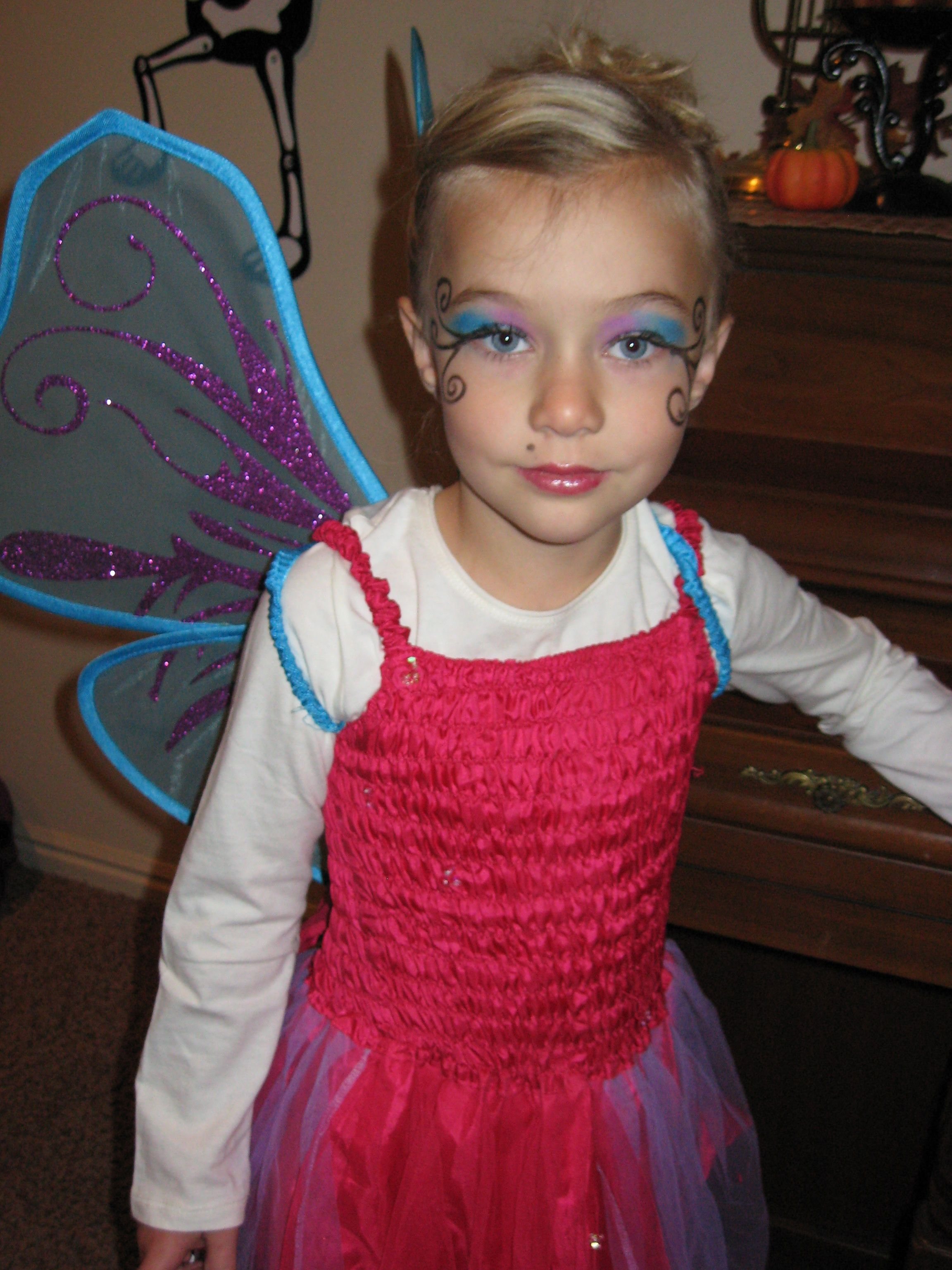Little Girl Fairy Makeup Chrissy Do You Think This Is -7116