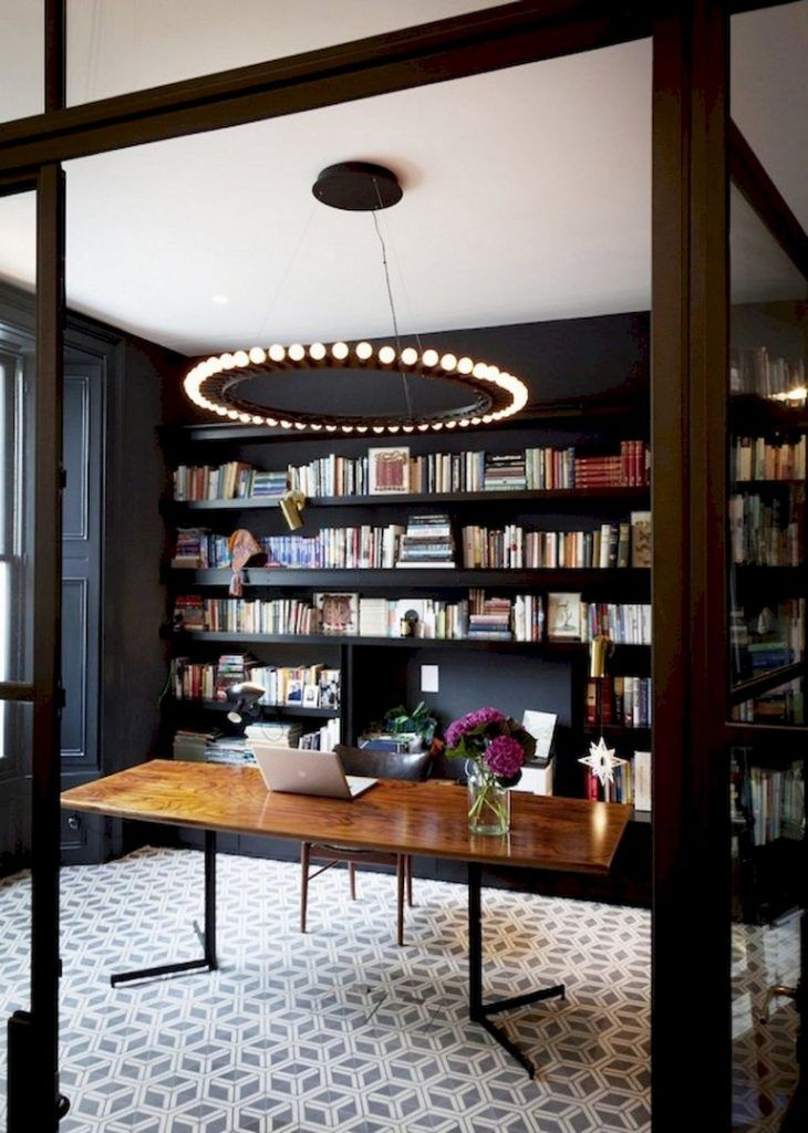 70+ Awesome Contemporary Home Office Ideas Home Decor Pinterest