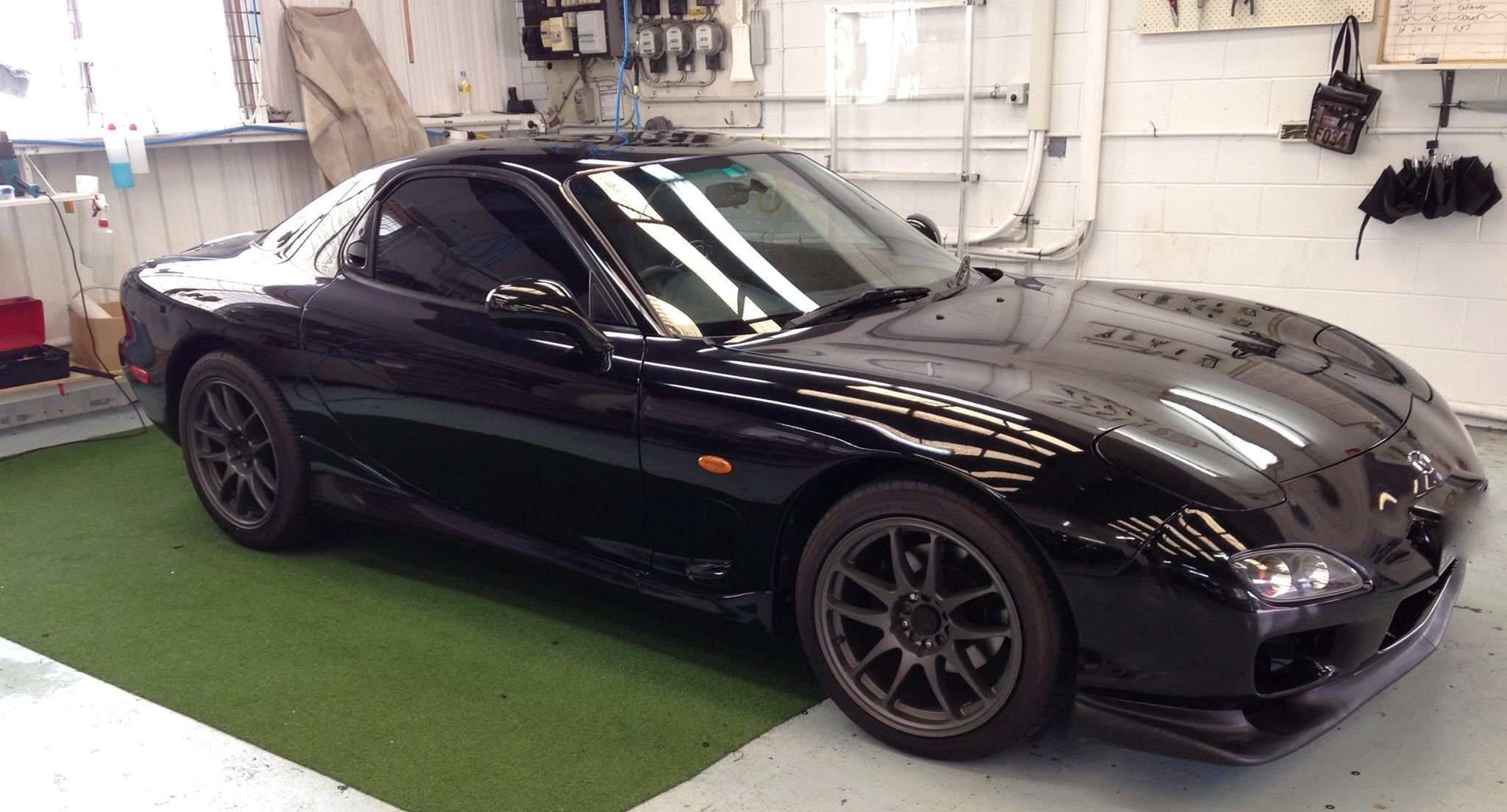 Black Window Tint Gives This Sport Car An Extra Dark Mysterious