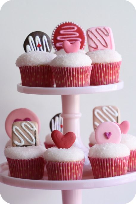 Valentines Day Cupcakes Yummy Food Drinks Pinterest Royal