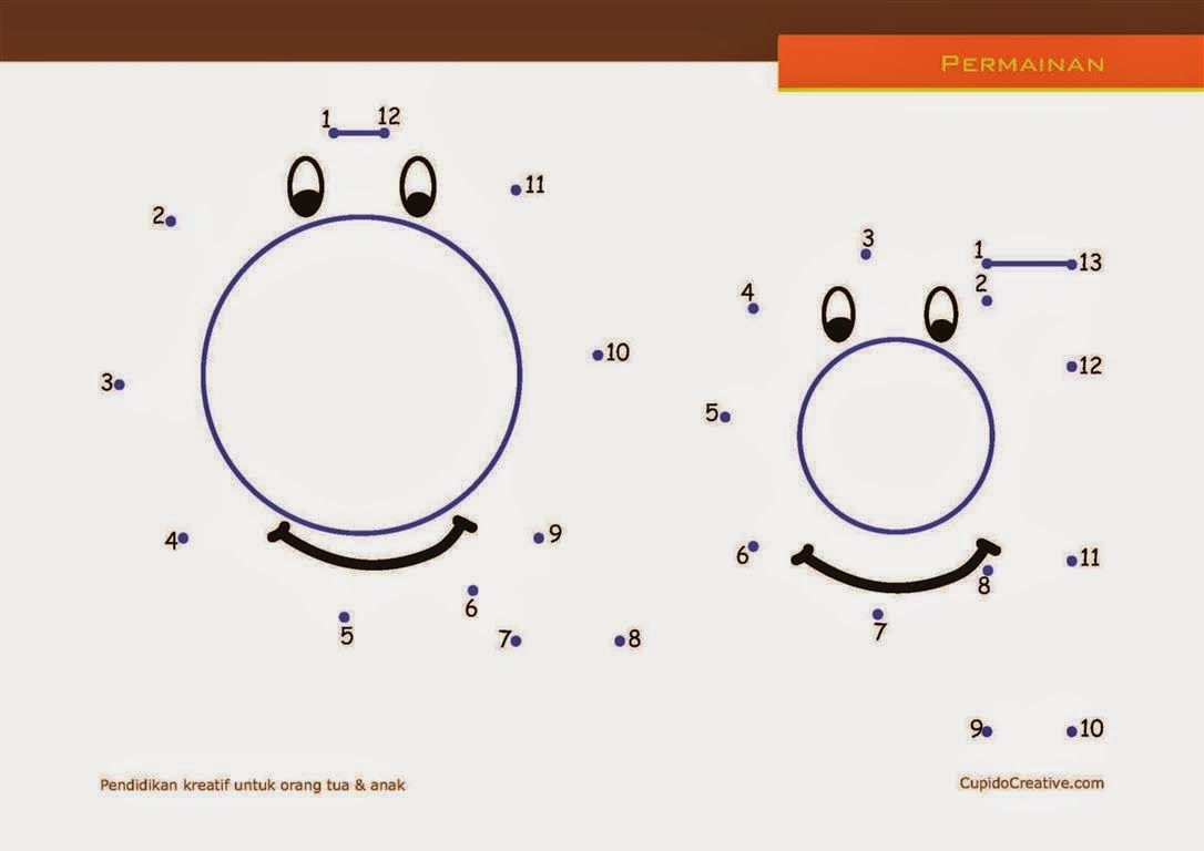 Belajar Anak Membaca Sambil Menghitung Dot To Dot Huruf
