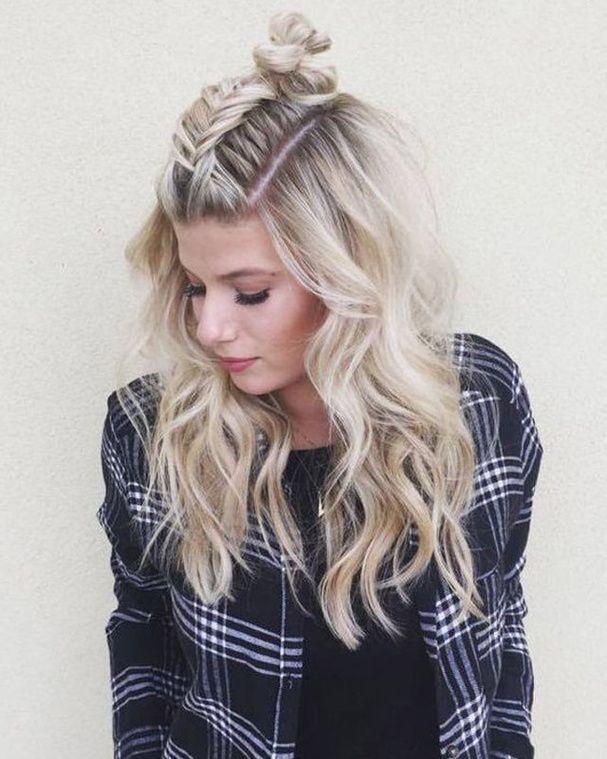 30 idées coiffures originales pour être stylée en festival