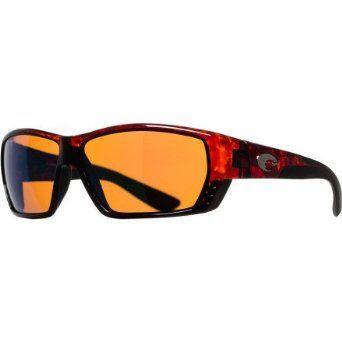 Costa Del Mar - Tuna Alley - Tortoise Frame- Green Mirror 580 Glass Polarized Lenses Costa Del Mar. $248.95