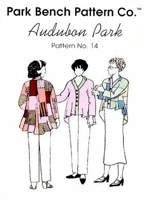 Audubon Park Park Bench Sewing Patterns Park Bench Sewing Design