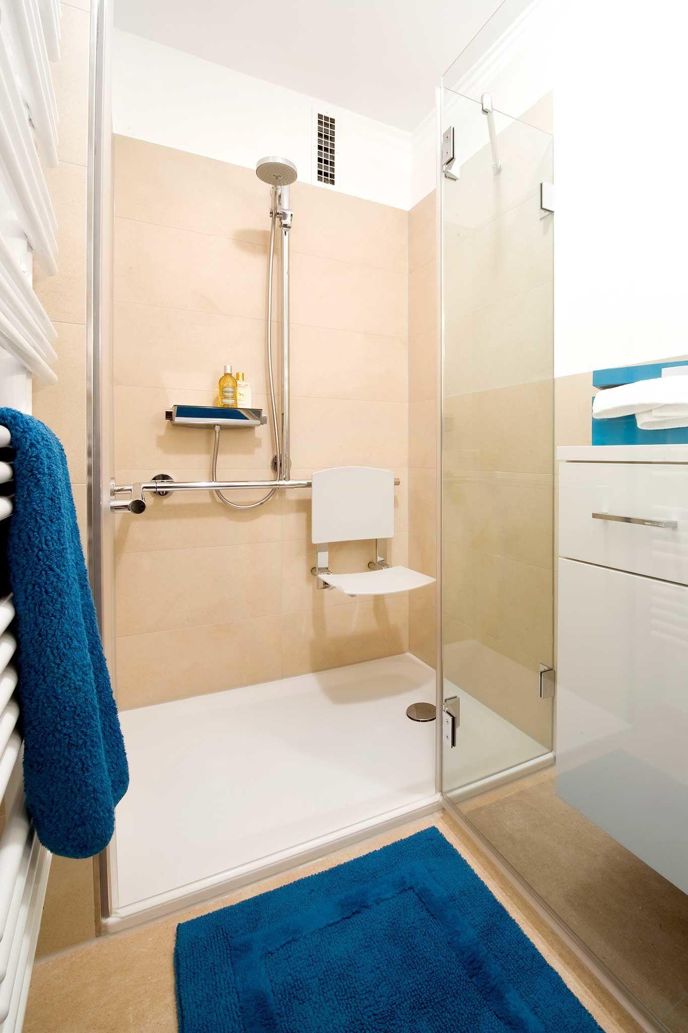 Heimwohl Badezimmer Badezimmer Dusche Klappsitz
