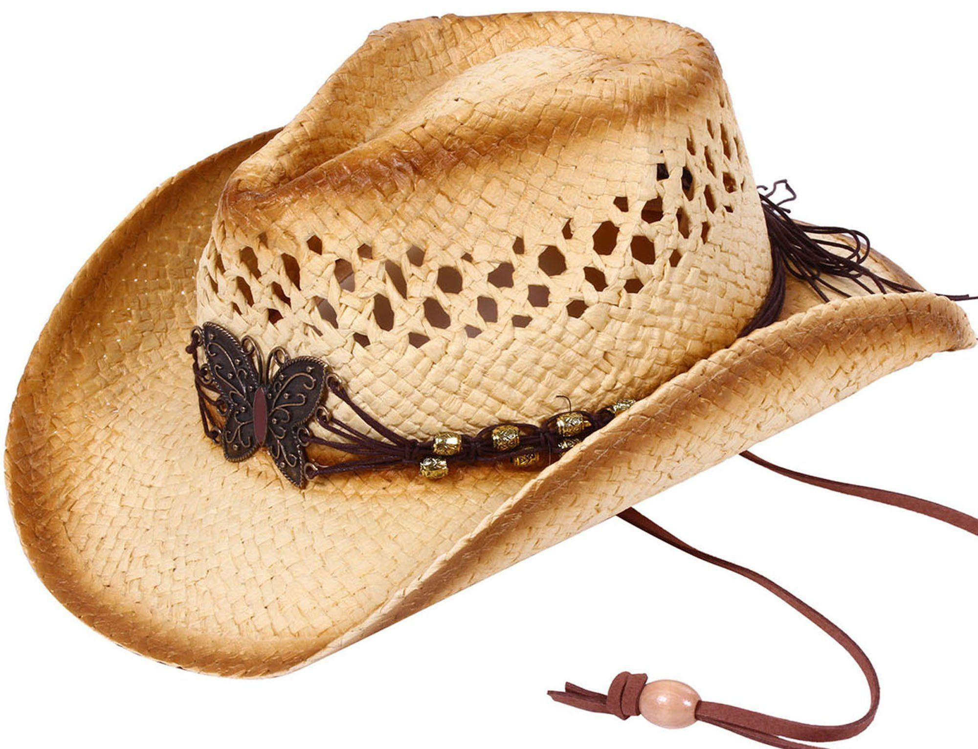 e716830bb7096 Simplicity Children s Cowboy Hat with Rolled Brim