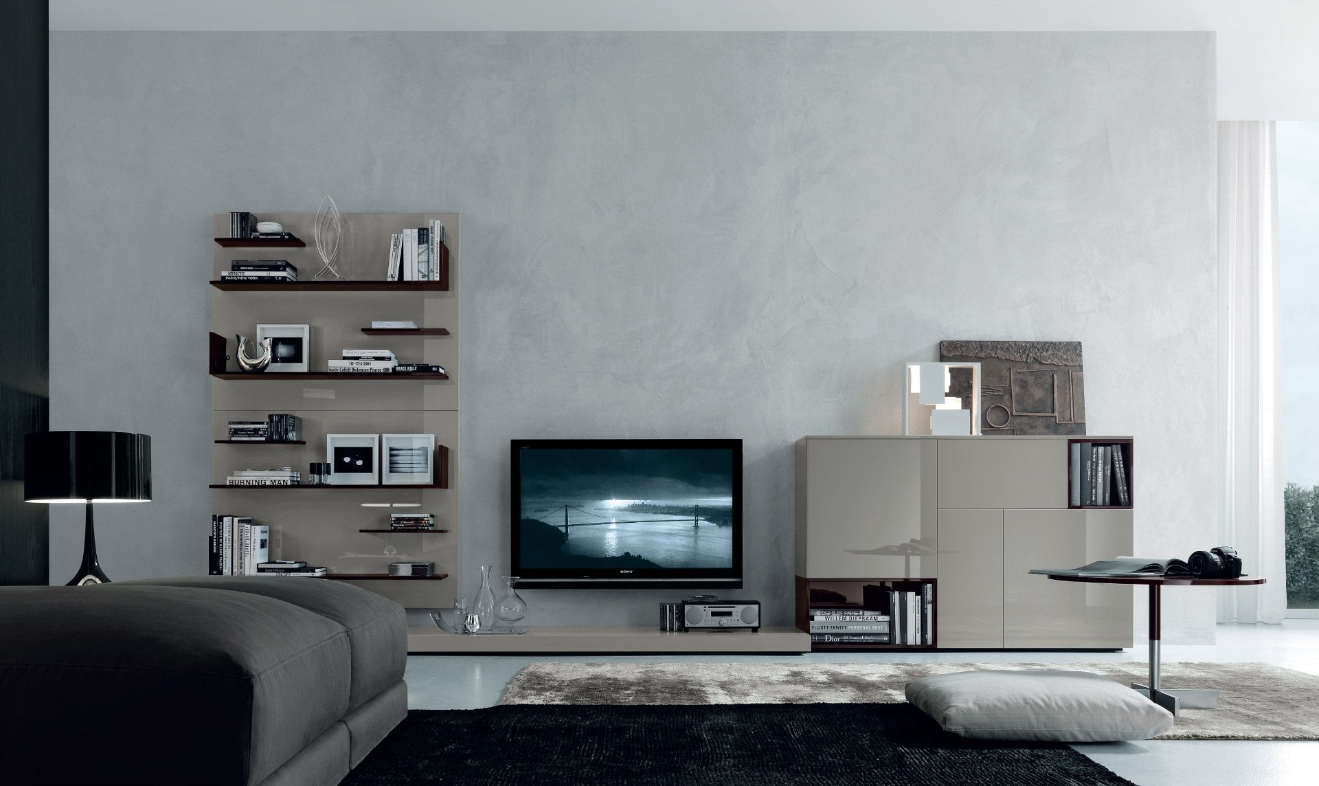 jesse - mobili arredamento design - sistemi giorno - open sistema ... - Arredamento Design Living