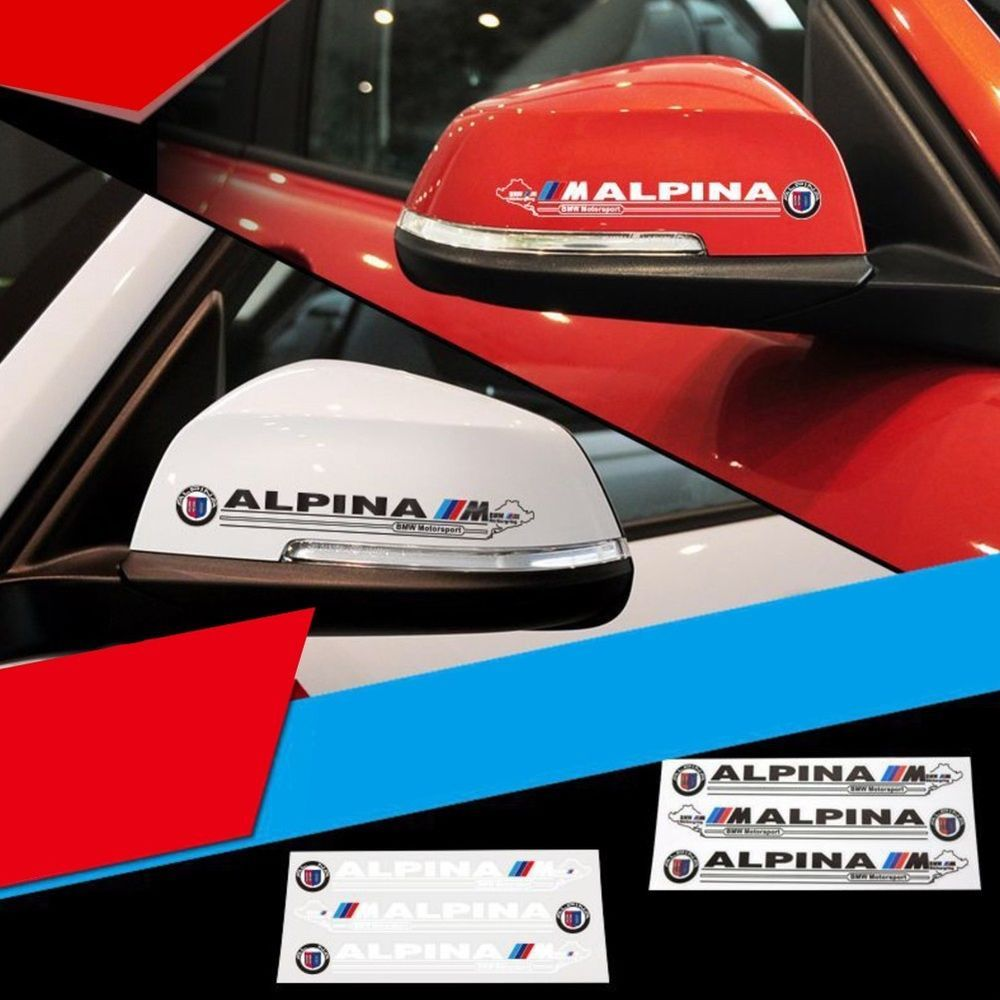 Car sticker design ebay - High Quality Car Sticker Rearview Mirror Vinyl Decals For Bmw M Sport Ebay Motors Parts Accessories Car Truck Parts Ebay