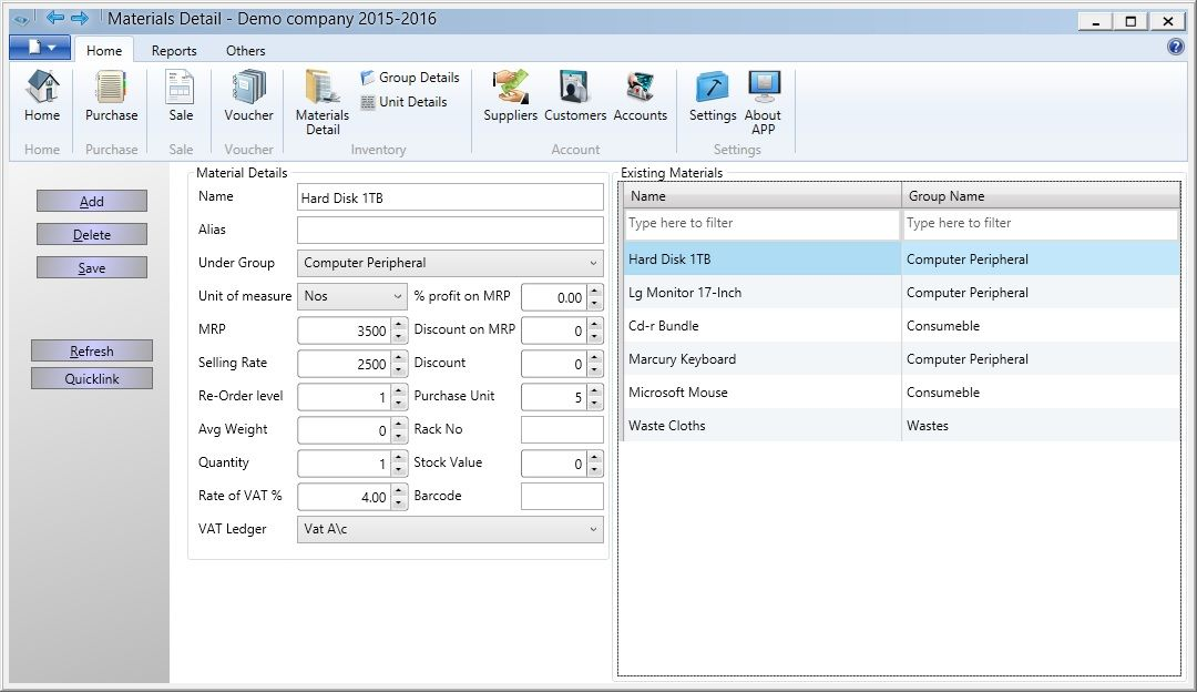 Free Retail Shop Billing Software, barcode supported Point