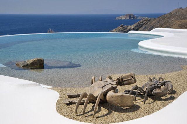 I ♥ Greece Disegni piscina
