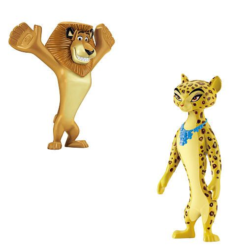 Fisher-Price #Madagascar 3 Basic Figures 2-Pack - Alex and Gia