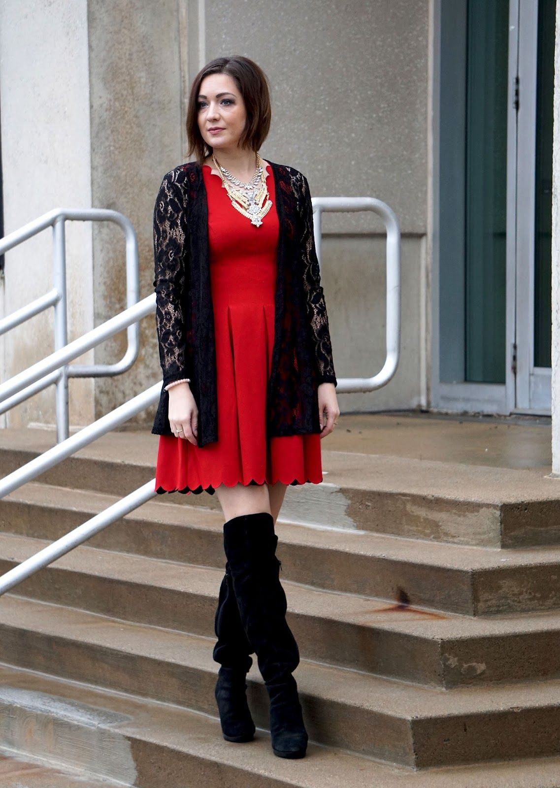 Dress: Banana Republic     It's Valentine's Day! Happy Valentine's Day to all of you who celebrate, and for all of you wh...
