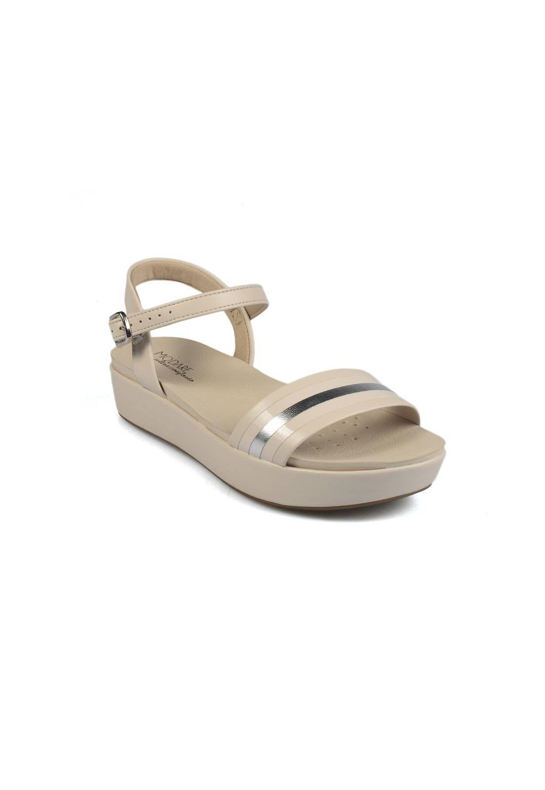 Sandalia Crema Modare Sandalias MUJER Zapatos de