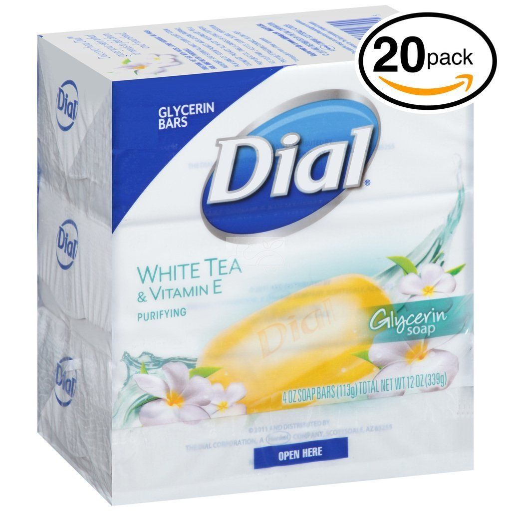 Dial Glycerin Soap White Tea And Vitamin E 10 Count Pack Of 2 Remarkable Product Available Now Travel Skincare White Tea Bar Soap Dial Bar Soap
