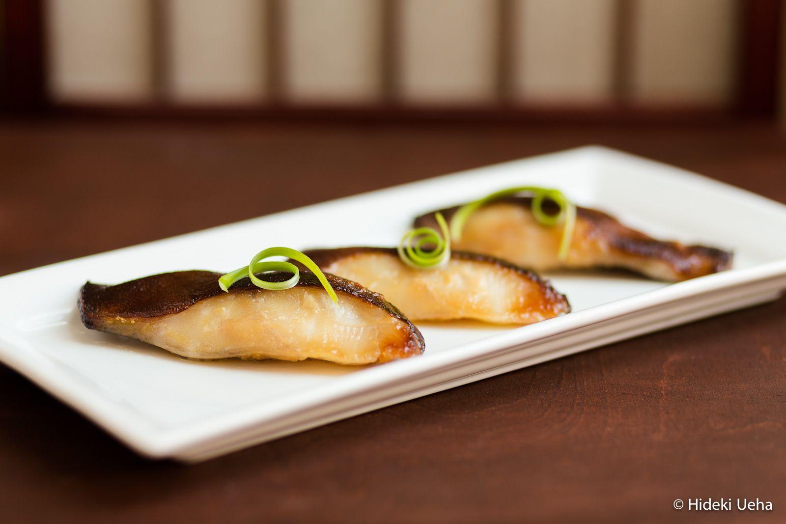 nobu miso black cod gindara misozuke | bebe love okazu | japanese
