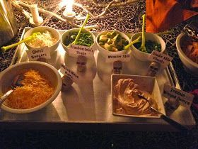 Our Hobby House: Halloween Chili Bar #chilibar Our Hobby House: Halloween Chili Bar #chilibar