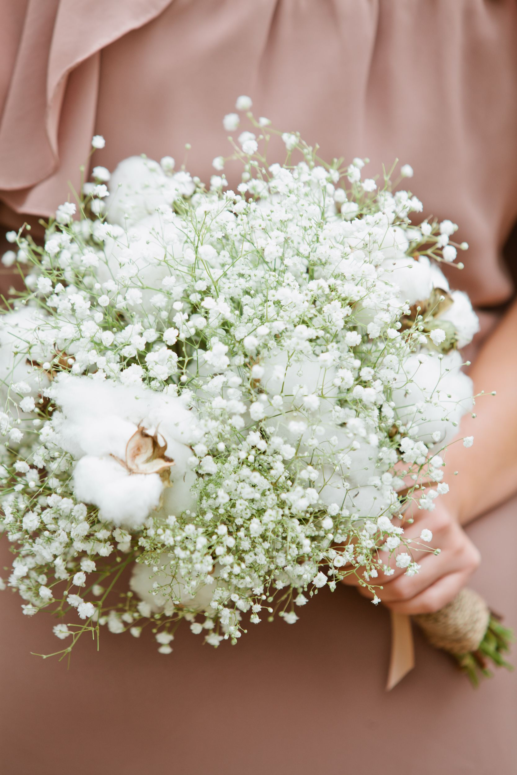 Bouquet of babys breath but something besides cotton in bouquet of babys breath but something besides cotton izmirmasajfo