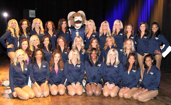 St Louis Rams Cheerleaders Cheerleading Nfl Cheerleaders Cheer Pictures