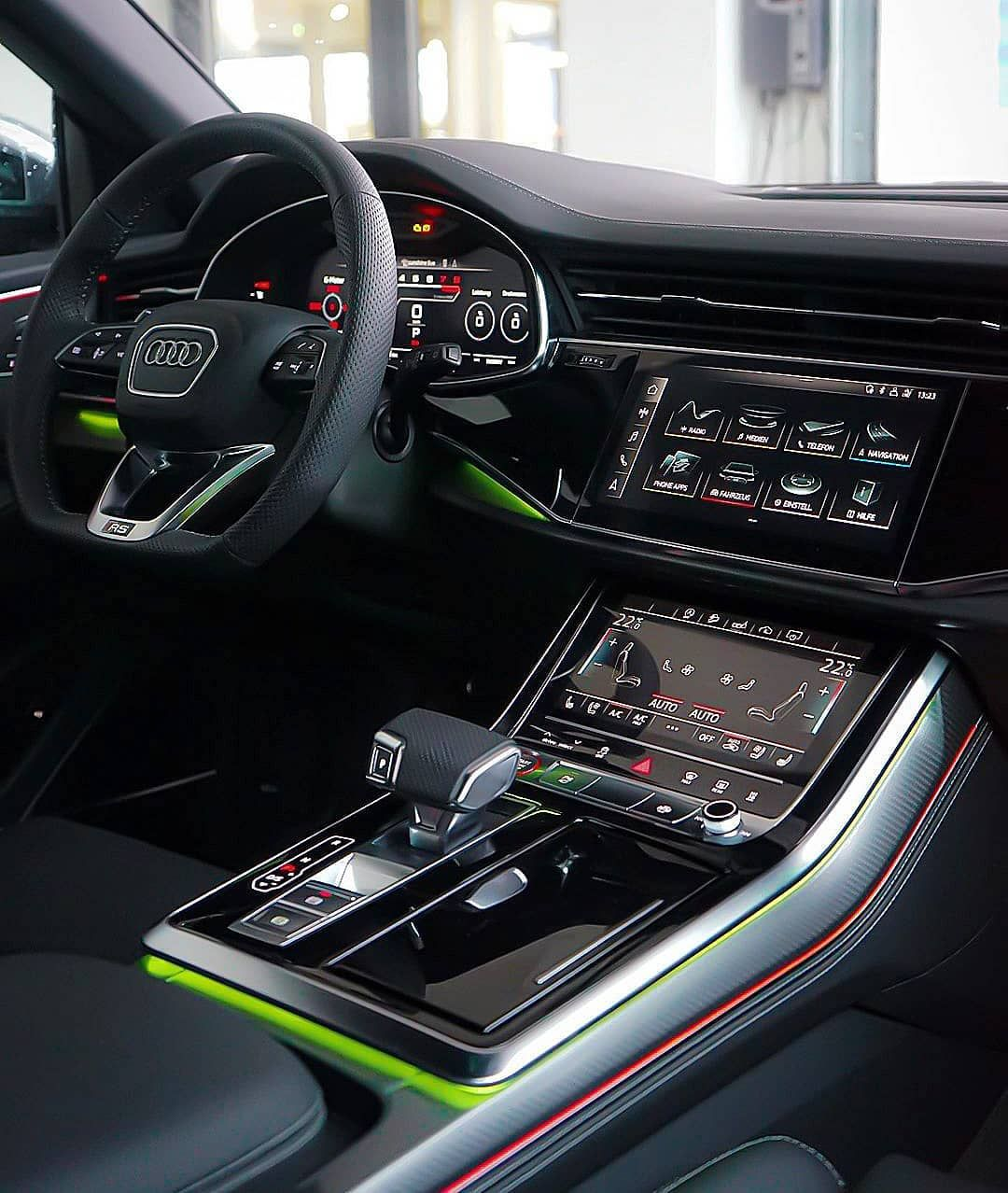 Audi Q8 On Instagram The Spaceship Rsq8 Our Pages Fourrings Nation S8 Nation In 2020 Audi Dream Cars Ambient Lighting