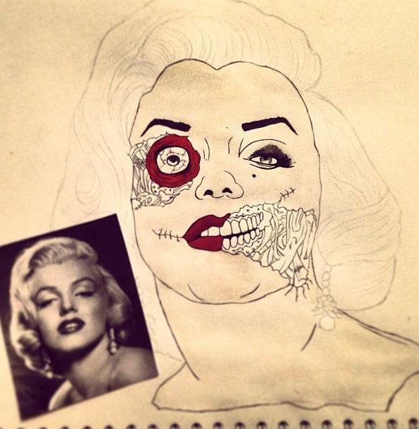 Marilyn Monroe❤ by Becca Conlin