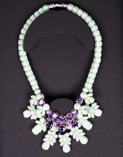Snowflake necklace <3