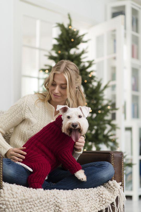 Neulottu Koiran Nuttu Dog Sweater Crochet Pattern Yarn Clothes Crochet Dog Sweater