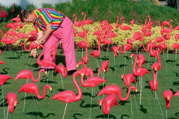 Don Featherstone Inventor Of The Flamingo Lawn Ornament