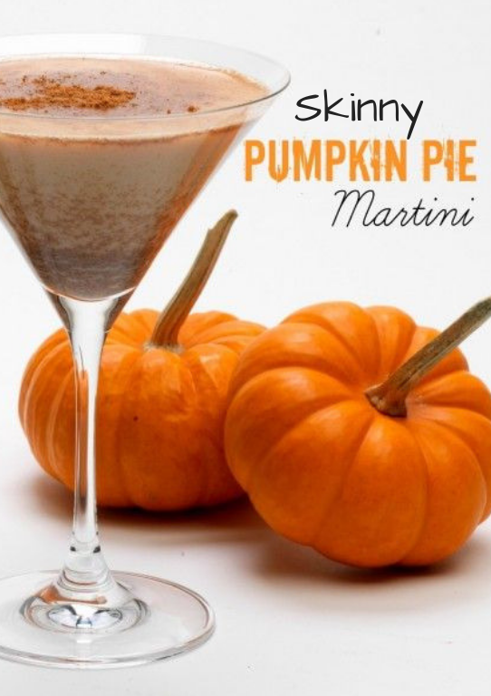 Skinny Pumpkin Pie Martini » Erin Young Fitness - #fitness #martini #pumpkin #skinny #young - #Craft...