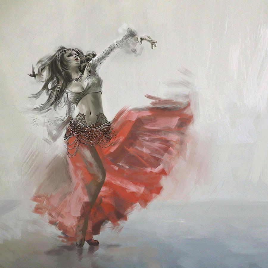 Belly Dancer 4 Con Immagini Danza Del Ventre Danza Illustrazioni