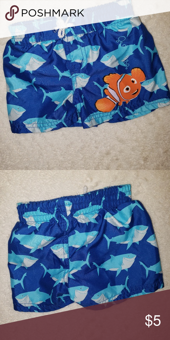 3b15915d1f Disney baby, Nemo bathing suit Disney baby, Nemo Bathing suit baby boy 6  months , like new disney baby Swim Swim Trunks