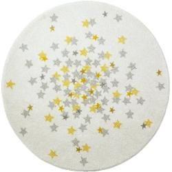 Tapis d'intérieur en jaune / gris Art for KidsArt for Kids
