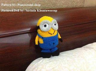 Amigurumipianosound Crochet Blog: Crochet Minion Free Pattern
