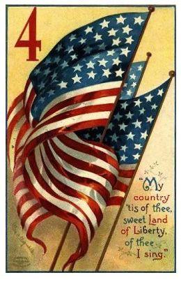 **FREE ViNTaGE DiGiTaL STaMPS**: Free Vintage Printable - Happy July Fourth