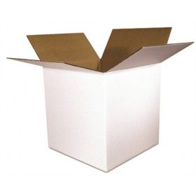 Basic Packaging Supply 8 x 8 x 8 White 200# / 32 ECT 25 bdl./ 900 bale Basic Packaging Supply