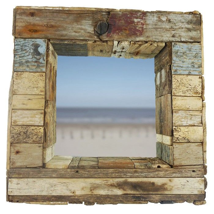 driftwood mirror crafthubs - Driftwood Picture Frame