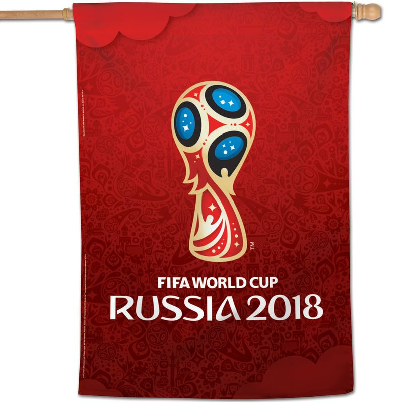 Wincraft 28 X 40 2018 Fifa World Cup Single Sided House Banner Fifa World Cup World Cup Fifa