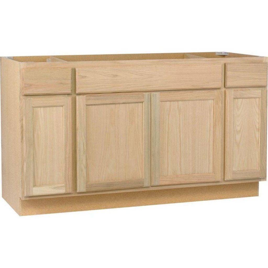 Home Depot Unfinished Wood Kitchen Cabinets Base Cabinet With Oak Bohd The