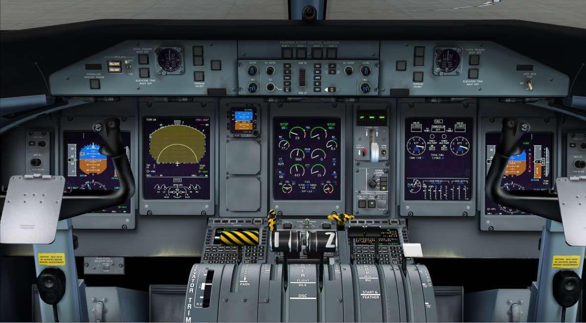 Just Flight - Majestic Software Dash 8 Q-400 - Pilot Edition