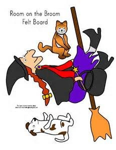 Rooom on the Broom felt story board - Yahoo Image Search Results