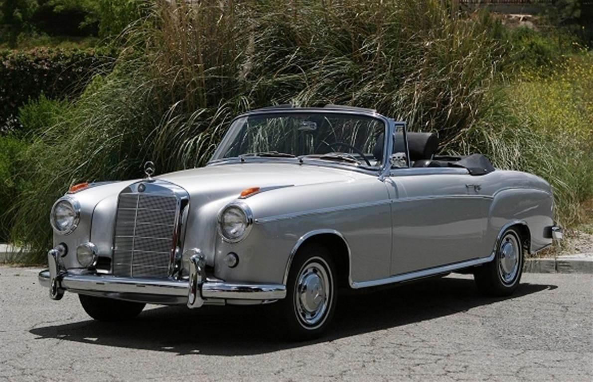1960 mercedes benz 220 se cabriolet this is car walter for Mercedes benz walters