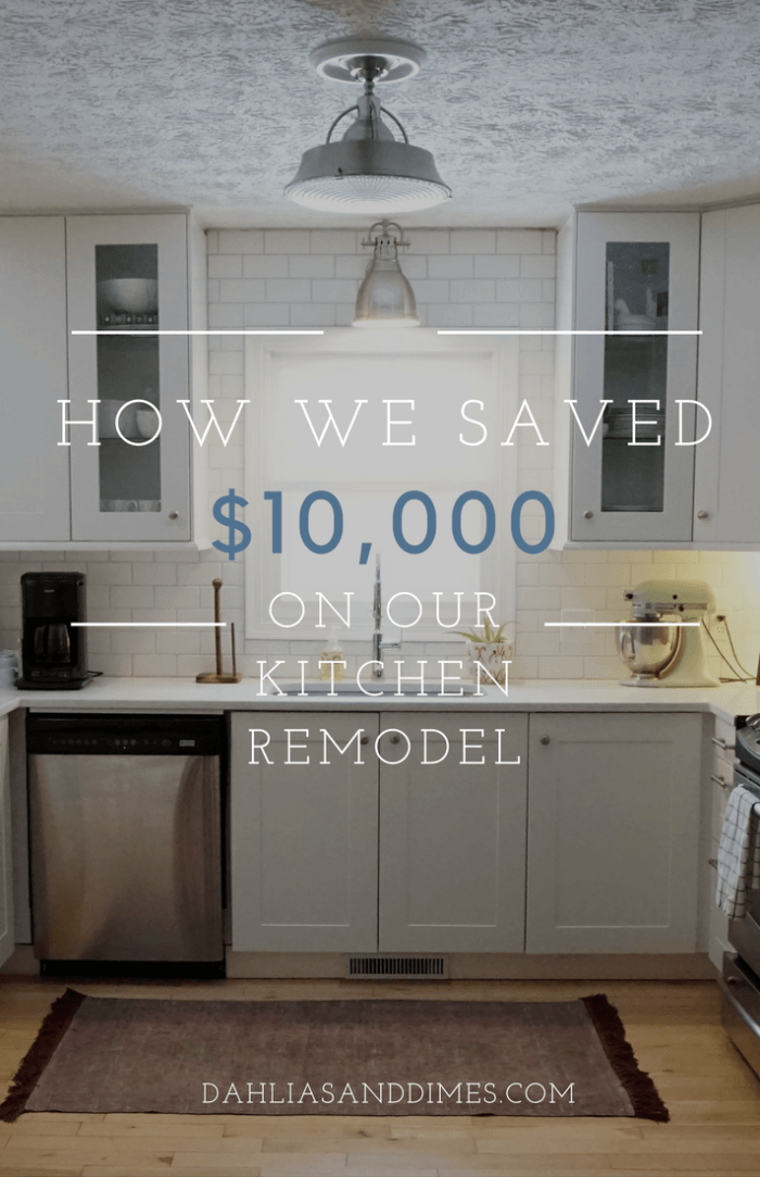 How We Saved $10000 On Our Kitchen Remodel  Kitchens Remodeled Fascinating Average Price Of Kitchen Cabinets Design Ideas