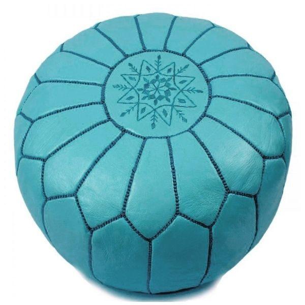 Vavoom Emporium - Moroccan Pouffe Turquoise, $199.00 (http://www.vavoom.com.au/moroccan-pouffe-turquoise/)