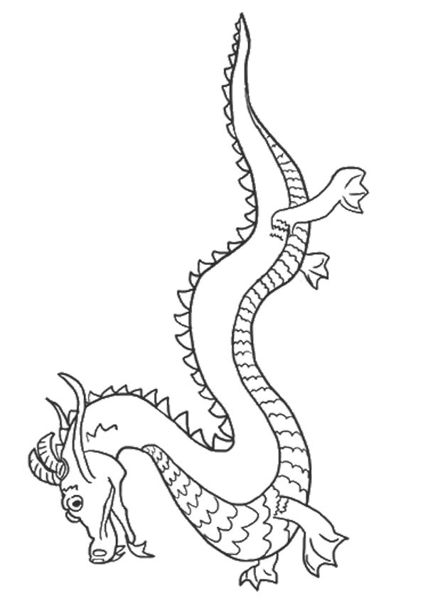 25 Best Dragon Coloring Pages Your Toddler Will Love To Color Dragon Coloring Page Chinese Dragon Coloring Pages